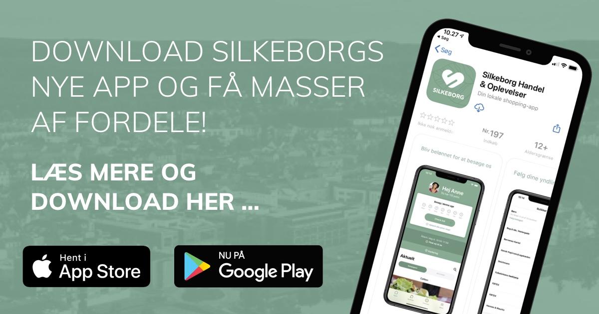 Download vores nye app!